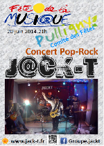 affiche concert pulligny le 20/06/2014